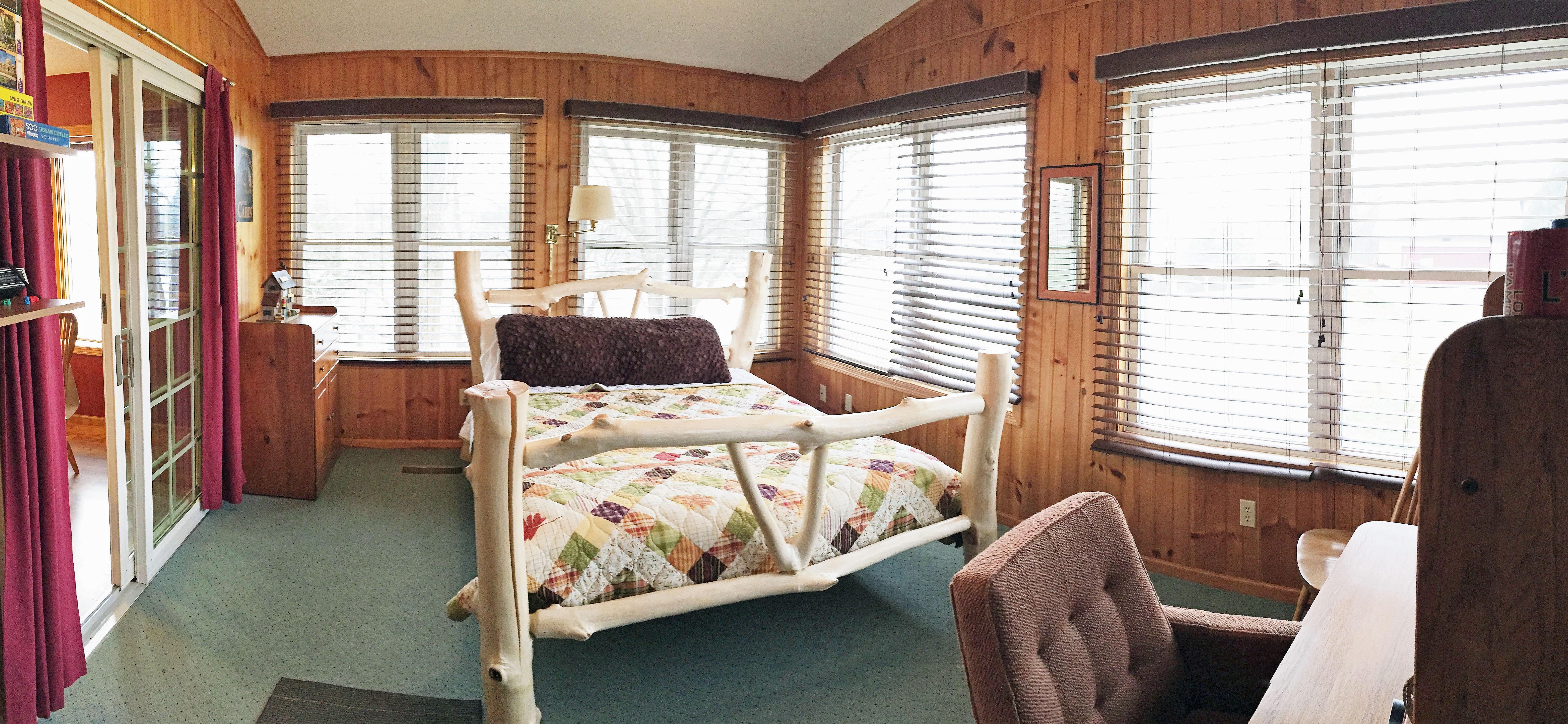 Aunt Kay S Cabin Look Inside